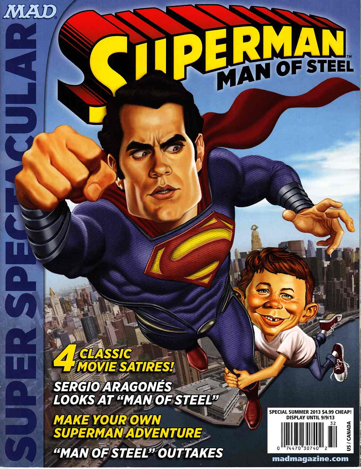Mad Presents Superman #1 [DC Comic] THUMBNAIL
