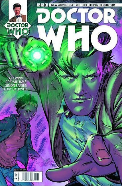Doctor Who 11th Doctor #14 [Titan Comic] THUMBNAIL