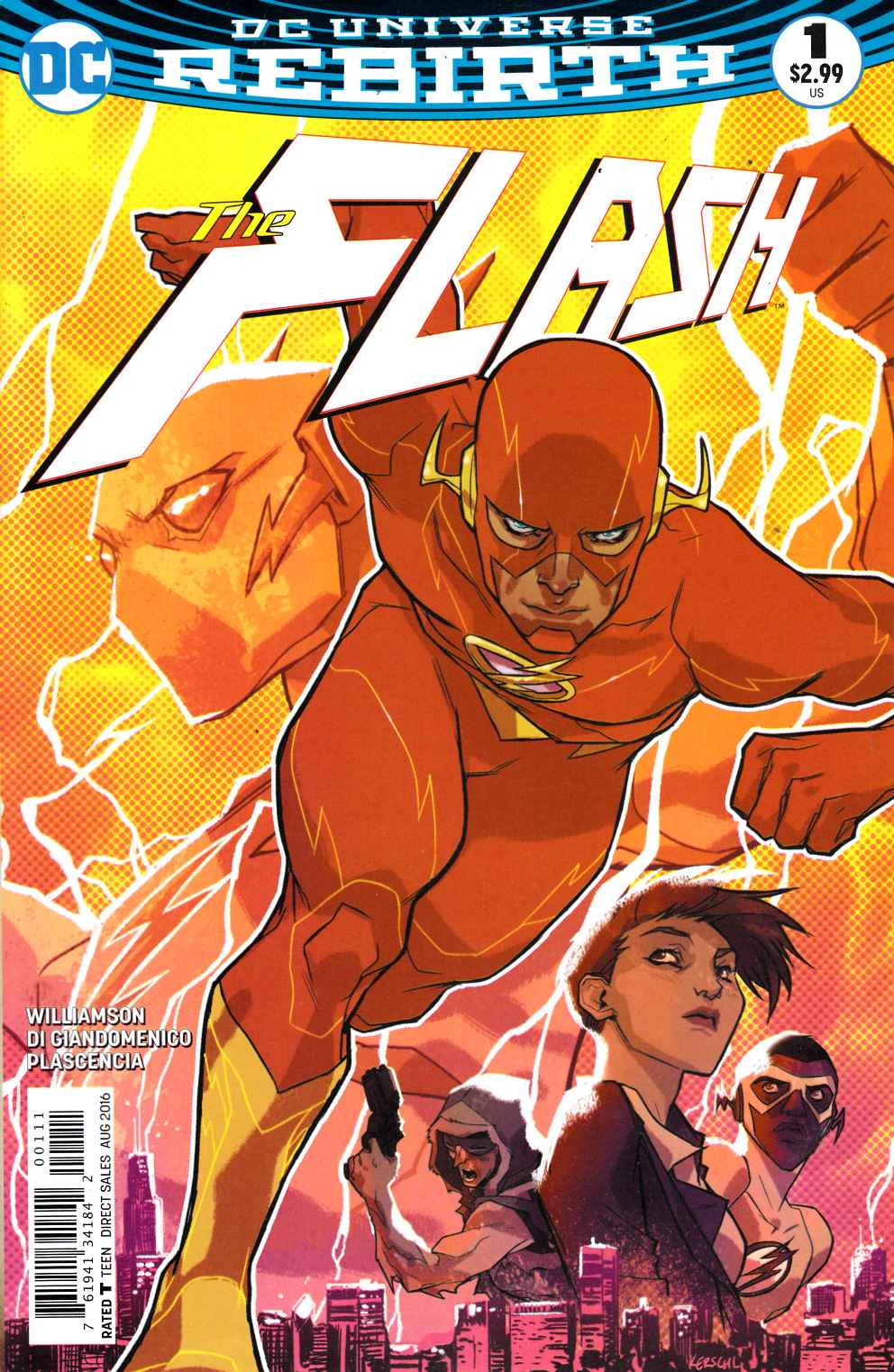 Flash #1 Very Fine (8.0) [DC Comic] THUMBNAIL