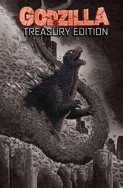 Godzilla Treasury Edition [IDW Comic]_THUMBNAIL