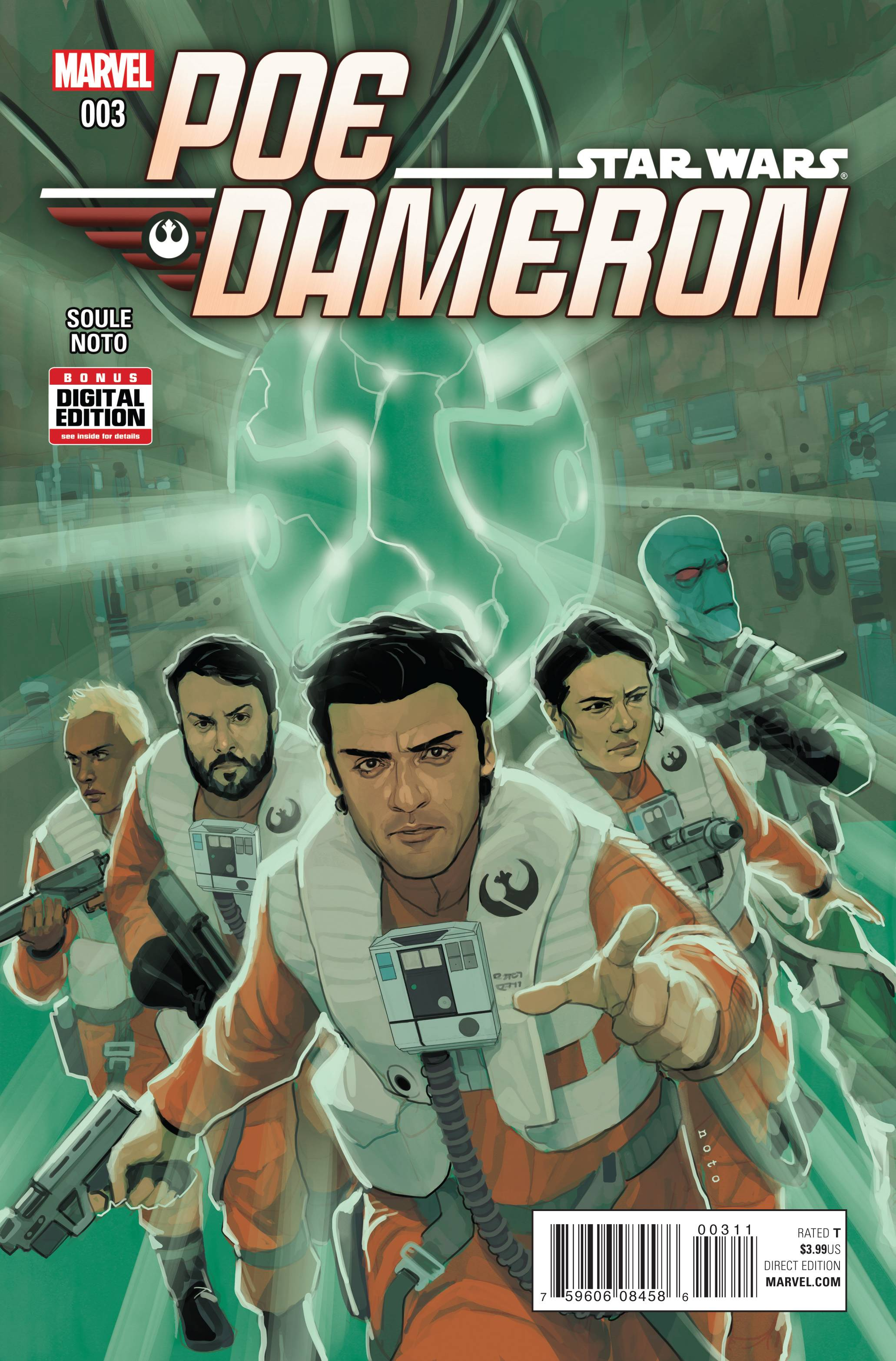 Star Wars Poe Dameron #3 [Marvel Comic] LARGE