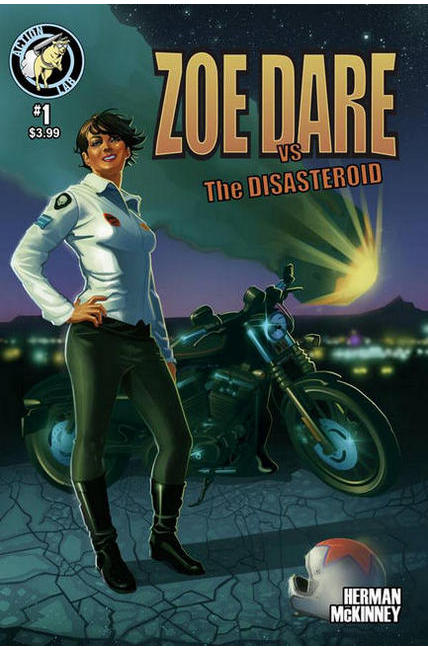 Zoe Dare vs Disasteroid #1 Cover A [Action Lab Comic] THUMBNAIL