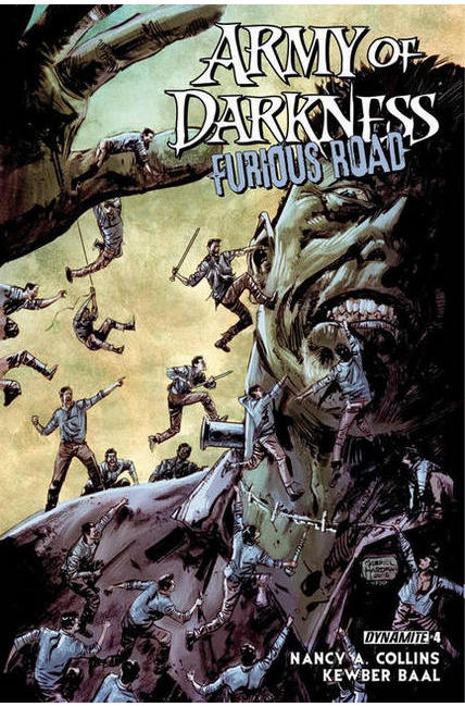 Army of Darkness Furious Road #4 [Dynamite Comic]