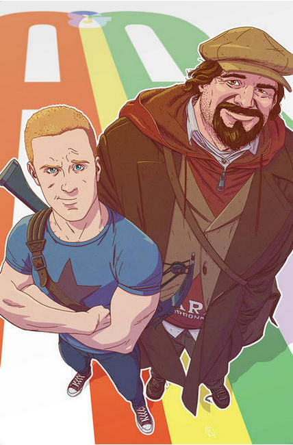 Archer & Armstrong #4 Cover B [Valiant Comic] THUMBNAIL