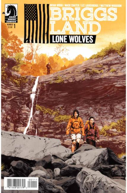 Briggs Land Lone Wolves #1 [Dark Horse Comic] THUMBNAIL