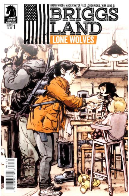 Briggs Land Lone Wolves #1 Jung GI Variant Cover [Dark Horse Comic] LARGE