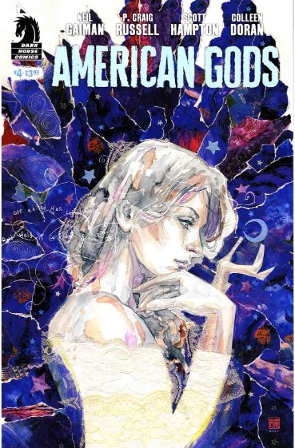 Neil Gaiman American Gods Shadows #4 Mack Variant Cover [Dark Horse Comic] THUMBNAIL