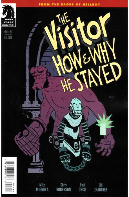 Visitor How and Why He Stayed #5 [Dark Horse Comic] LARGE