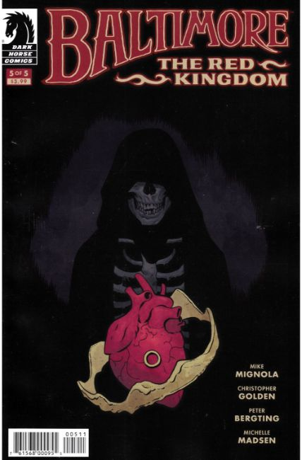 Baltimore the Red Kingdom #5 [Dark Horse Comic] THUMBNAIL