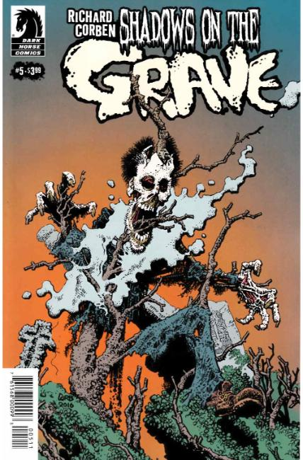 Shadows on the Grave #5 [Dark Horse Comic] THUMBNAIL