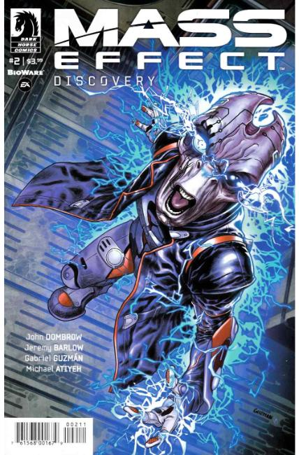 Mass Effect Discovery #2 [Dark Horse Comic] THUMBNAIL