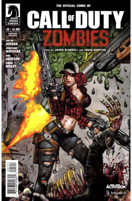Call of Duty Zombies #5 [Dark Horse Comic] THUMBNAIL