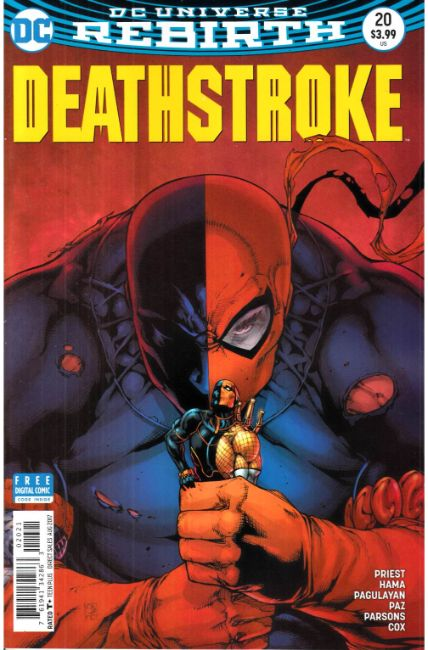 Deathstroke #20 Davis Variant Cover [DC Comic] THUMBNAIL