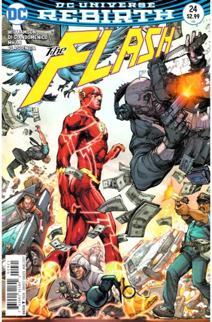 Flash #24 Porter Variant Cover [DC Comic] THUMBNAIL