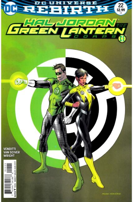 Hal Jordan and the Green Lantern Corps #22 Nowlan Variant Cover [DC Comic] THUMBNAIL