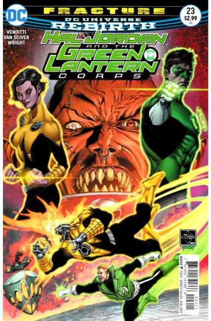 Hal Jordan and the Green Lantern Corps #23 [DC Comic] THUMBNAIL