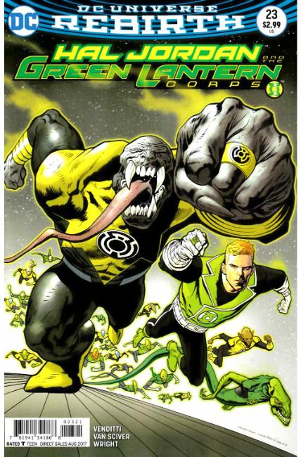 Hal Jordan and the Green Lantern Corps #23 Nowlan Variant Cover [DC Comic] THUMBNAIL