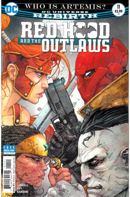 Red Hood and the Outlaws #11 [DC Comic] THUMBNAIL