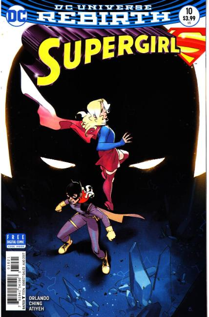 Supergirl #10 Bengal Variant Cover [DC Comic]_THUMBNAIL