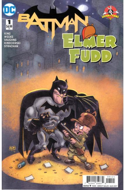 Batman Elmer Fudd Special #1 Fingerman Variant Cover [DC Comic]