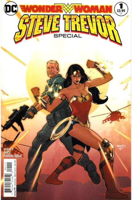 Wonder Woman Steve Trevor #1 [DC Comic] THUMBNAIL
