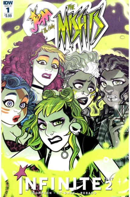Jem & the Holograms Misfits Infinite #1 [IDW Comic]
