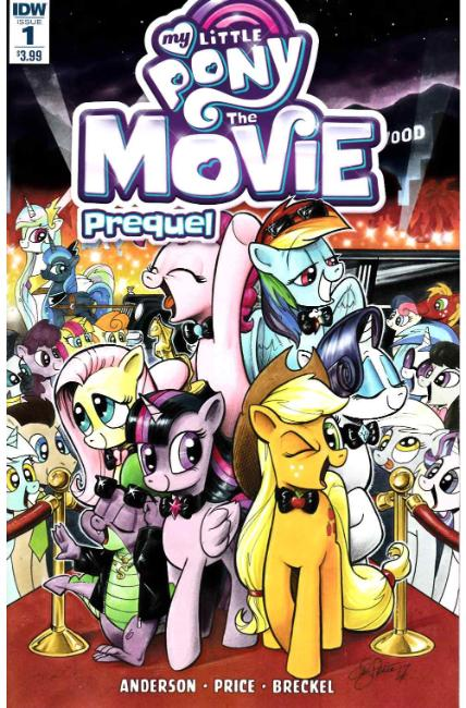 My Little Pony Movie Prequel #1 [IDW Comic] THUMBNAIL
