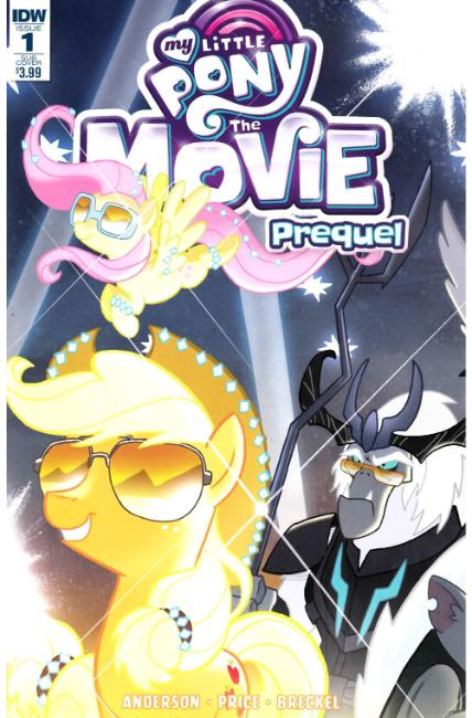 My Little Pony Movie Prequel #1 Subscription Cover [IDW Comic]