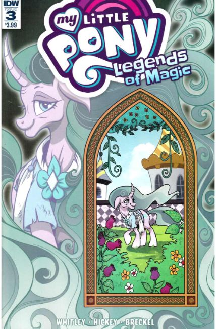 My Little Pony Legends of Magic #3 [IDW Comic]