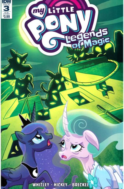 My Little Pony Legends of Magic #3 Subscription Cover [IDW Comic]