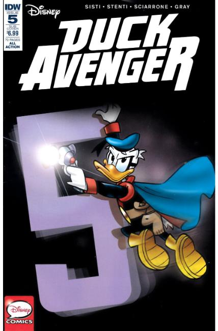 Duck Avenger #5 Subscription Cover [IDW Comic] THUMBNAIL