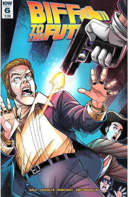Back to the Future Biff to the Future #6 [IDW Comic]