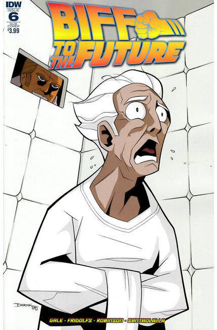 Back to the Future Biff to the Future #6 Subscription Cover [IDW Comic] THUMBNAIL