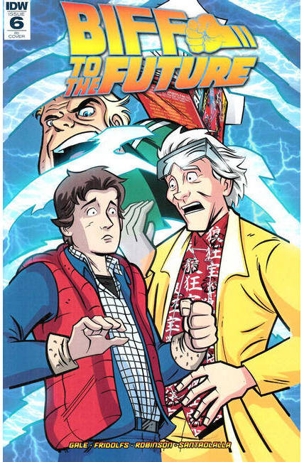 Back to the Future Biff to the Future #6 Cover RI [IDW Comic] THUMBNAIL