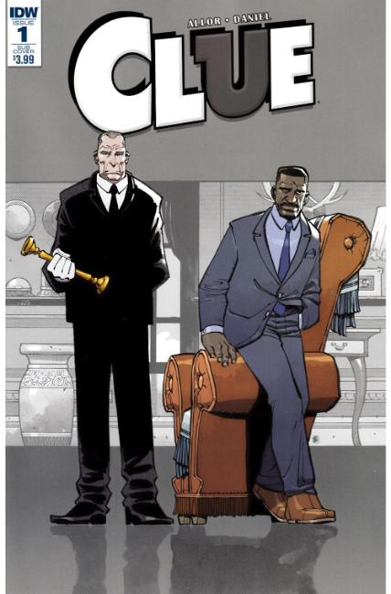 Clue #1 Subscription Cover A [IDW Comic]