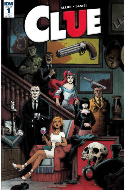 Clue #1 Cover RI [IDW Comic]