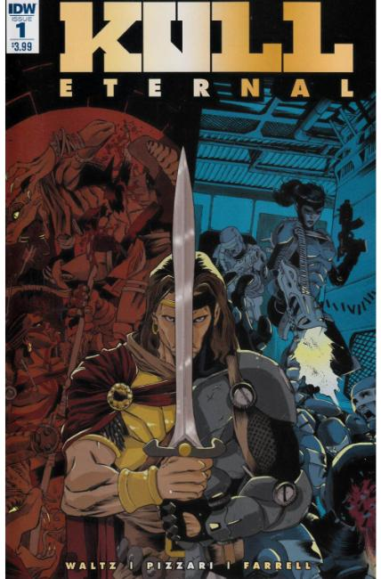 Kull Eternal #1 [IDW Comic]
