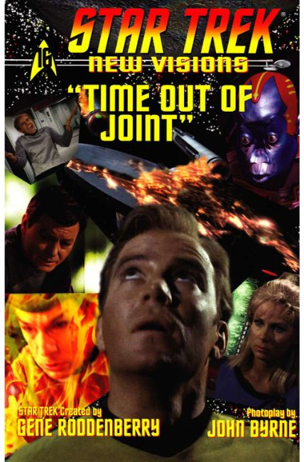 Star Trek New Visions Time Out of Joint (One Shot) [IDW Comic] THUMBNAIL