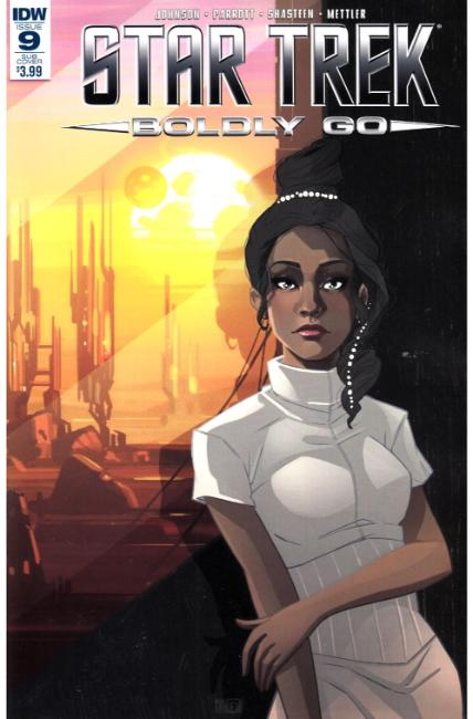 Star Trek Boldly Go #9 Subscription Cover [IDW Comic] THUMBNAIL