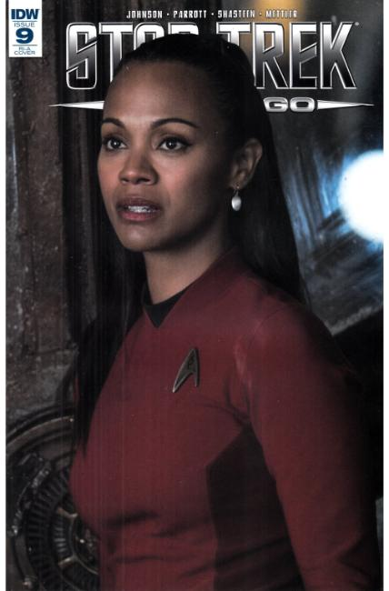 Star Trek Boldly Go #9 Cover RIA [IDW Comic] THUMBNAIL