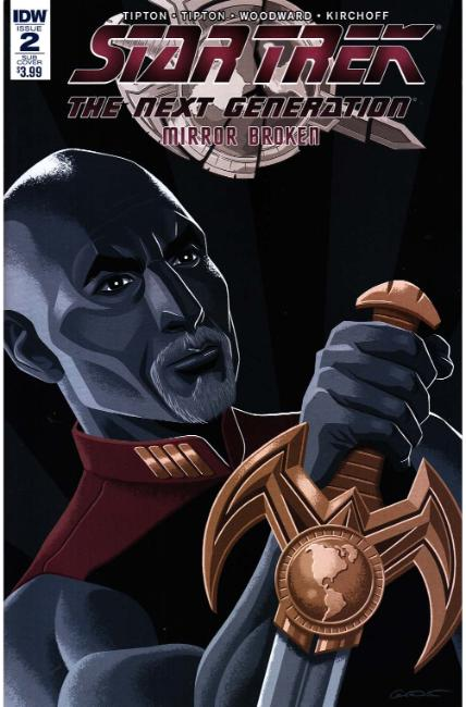Star Trek TNG Mirror Broken #2 Subscription Cover [IDW Comic] THUMBNAIL