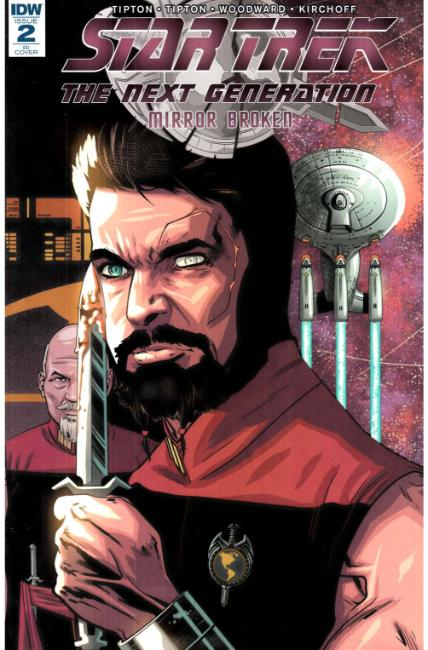 Star Trek Tng Mirror Broken #2 Cover RI [IDW Comic] THUMBNAIL