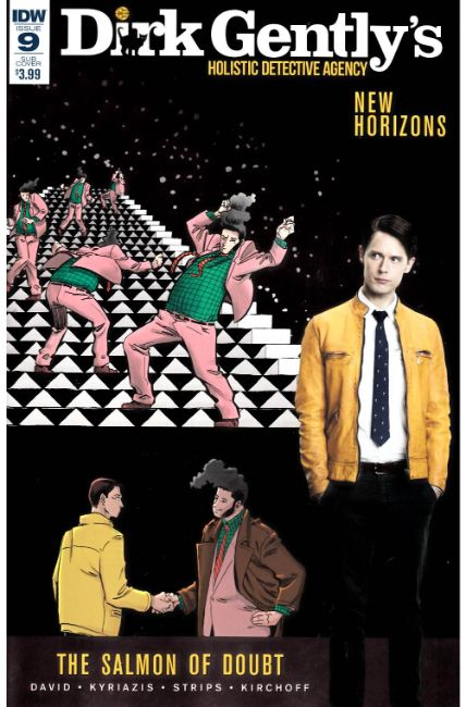 Dirk Gently Salmon of Doubt #9 Subscription Cover [IDW Comic] LARGE
