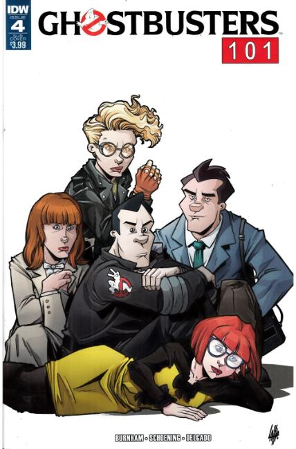 Ghostbusters 101 #4 Subscription Cover [IDW Comic] THUMBNAIL