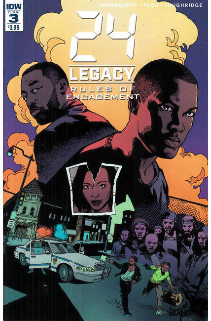 24 Legacy Rules of Engagement #3 [IDW Comic] LARGE