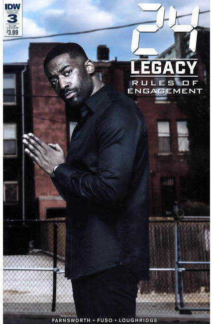 24 Legacy Rules of Engagement #3 Subscription Cover [IDW Comic] THUMBNAIL