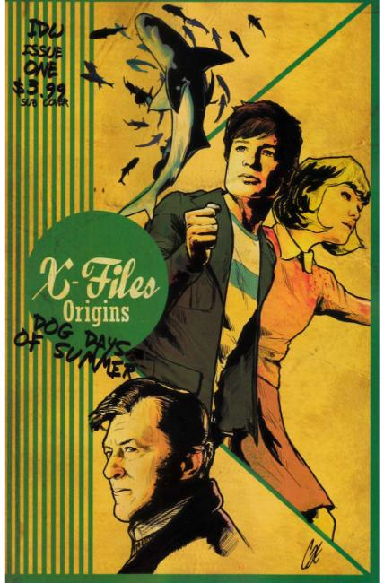 X-Files Origins II Dog Days of Summer #1 Subscription Cover [IDW Comic] THUMBNAIL