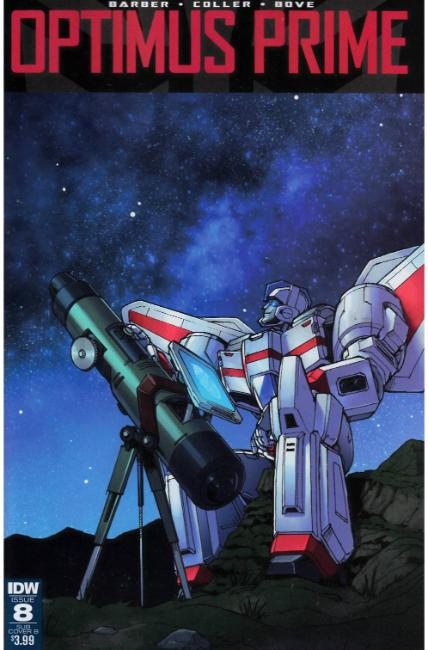Optimus Prime #8 Subscription Cover B [IDW Comic]