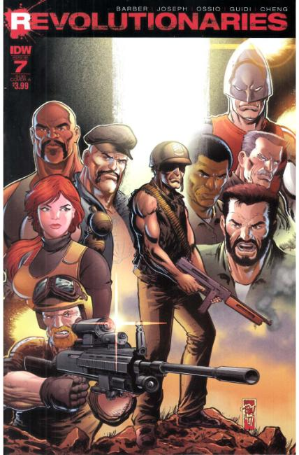 Revolutionaries #7 Subscription Cover A [IDW Comic] LARGE