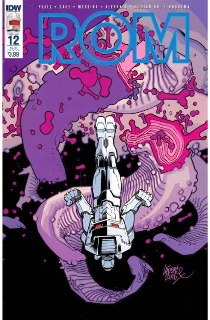 Rom #12 Subscription Cover B [IDW Comic] THUMBNAIL